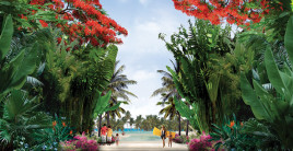 Dreams Resorts Walkway