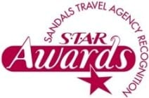 STAR Awards Enchanted Honeymoons Receives Prestigious Sandals S.T.A.R. Awards