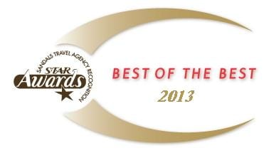 STAR Best of the Best Enchanted Honeymoons Receives Prestigious Sandals S.T.A.R. Awards