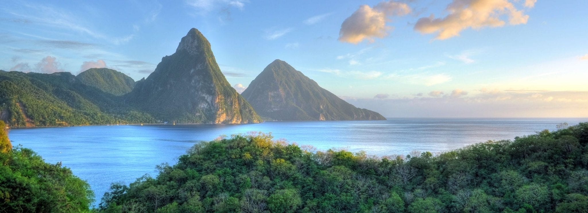 how to get to st lucia from australia