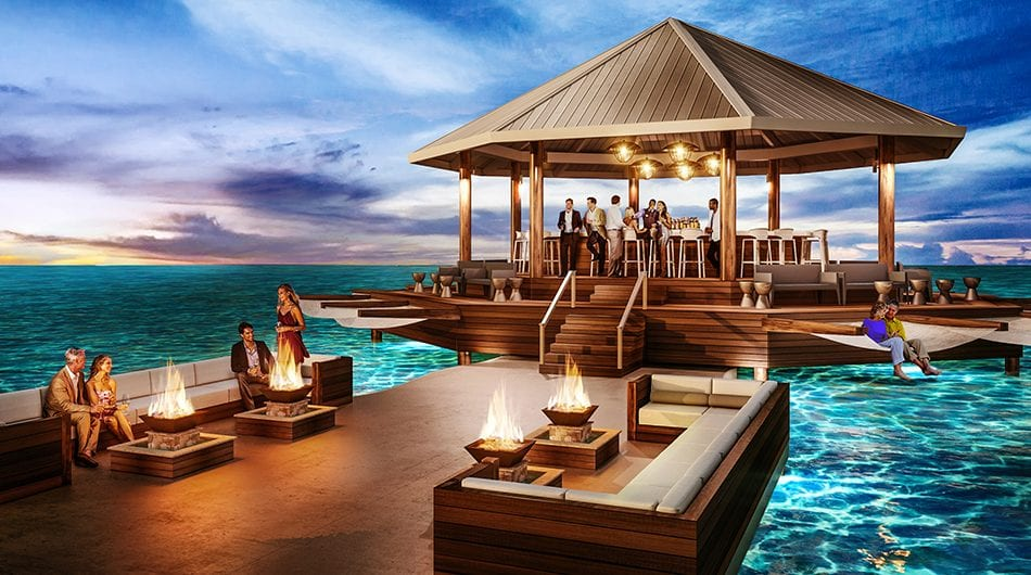 Sandals Swim-Up Bar