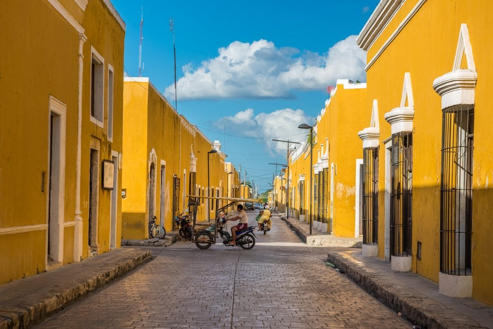 Mexico 2 - Yellow city edit