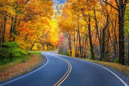 fall foliage kansas