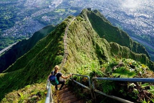hawaii haiku stairs edit