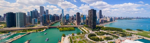 city of chicago view