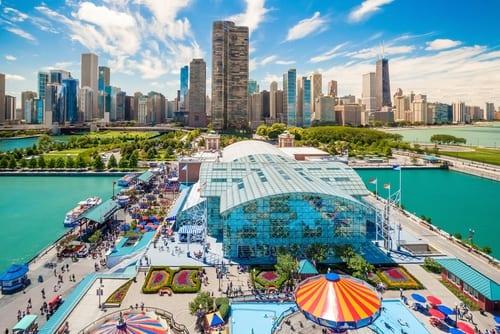 city of Chicago pier