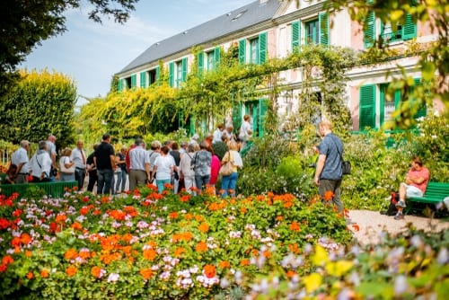 spring flowers - giverny