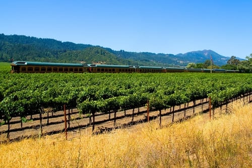 travel tech napa valley wine train