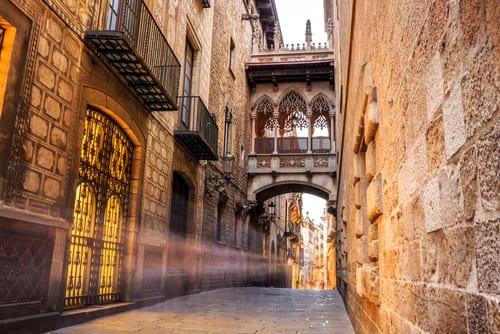 gothic quarter edit barcelona