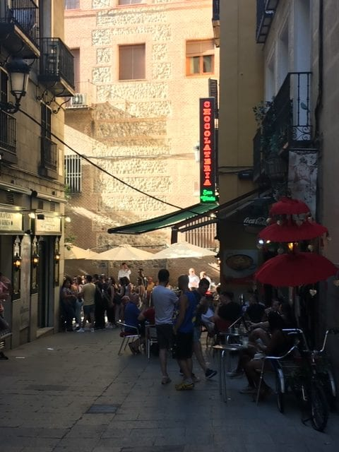 Madrid churro 1