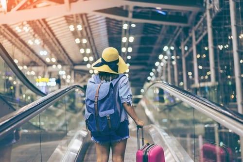 passport girl traveling