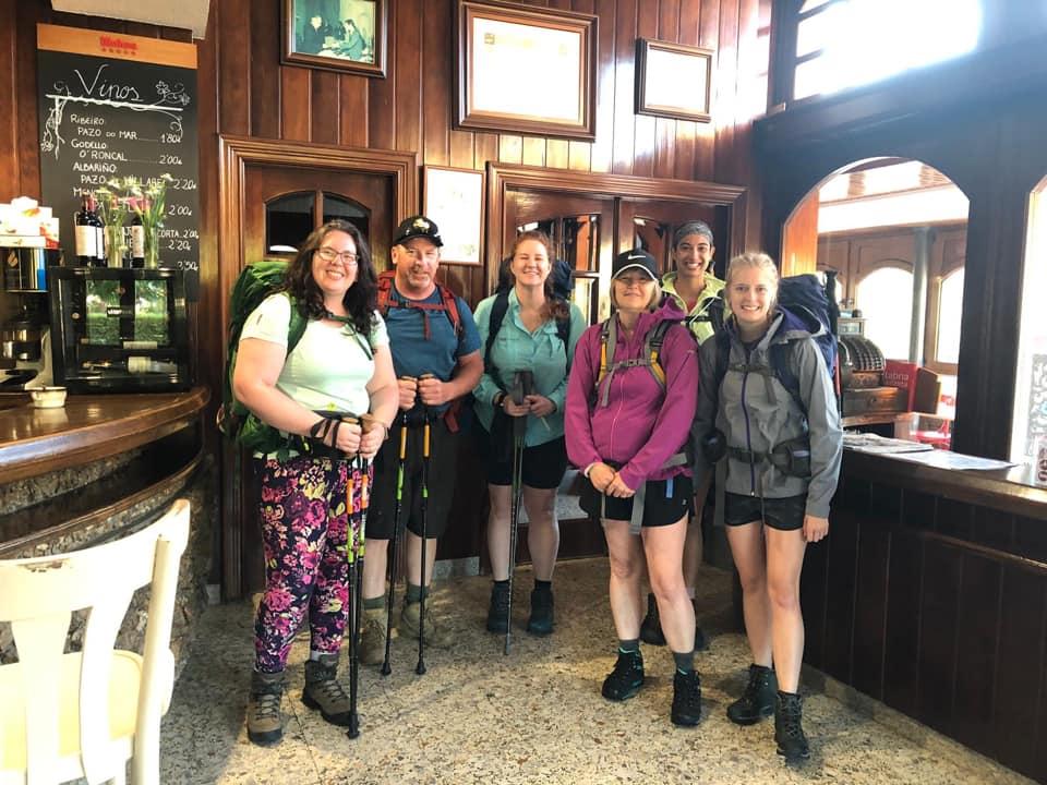 Camino hikers